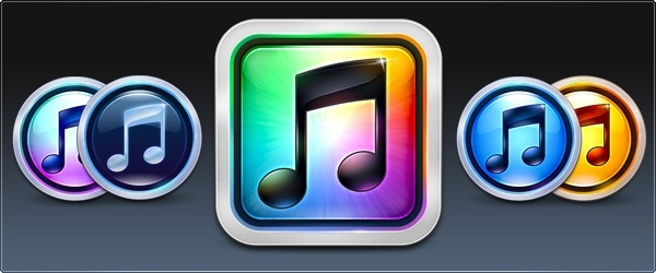 ITunes 10 icons pack Free icon in format for free download 1 50MB