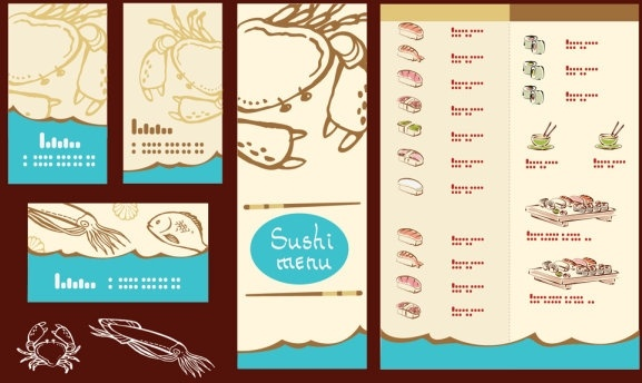 japanese illustrator 04 vector