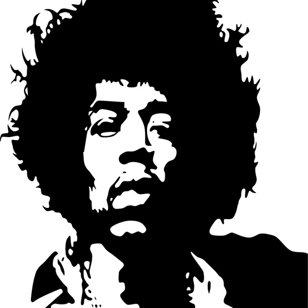 jimi hendrix vector free vector download (3 free vector) for