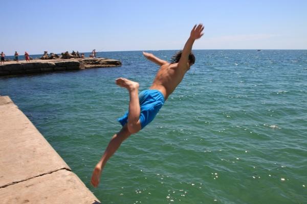 jump jumping man