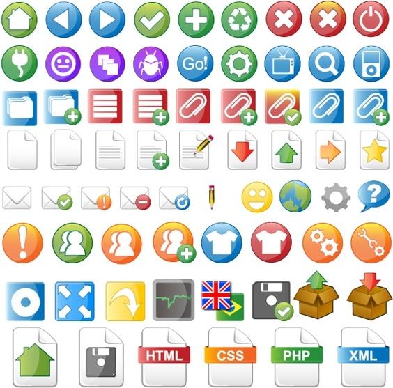 kameo common web design icon vector