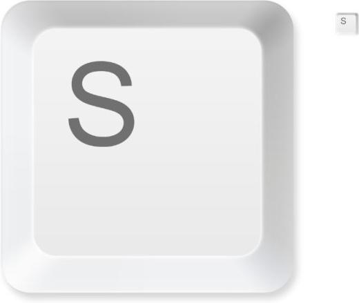 keyboard button psd