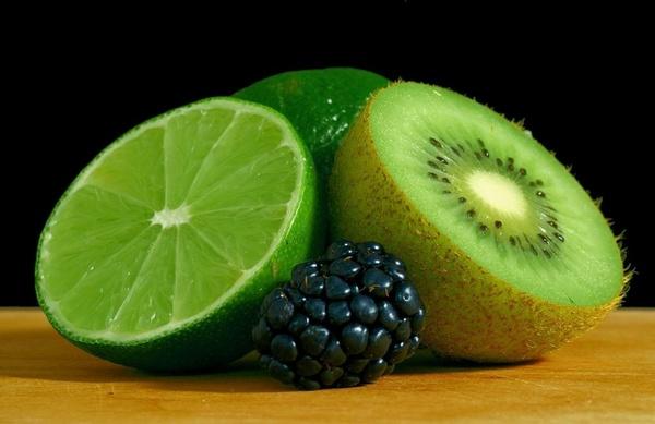 kiwi blackberry lime
