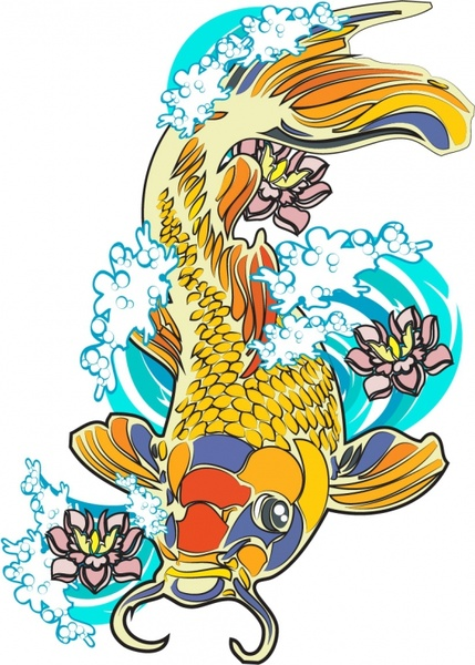 Vector Ikan Koi Free Vector Download 22 Free Vector For Commercial Use Format Ai Eps Cdr Svg Vector Illustration Graphic Art Design