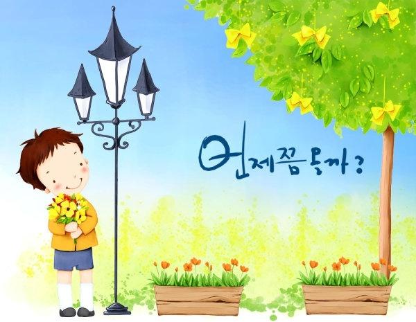 korean children illustrator psd 50