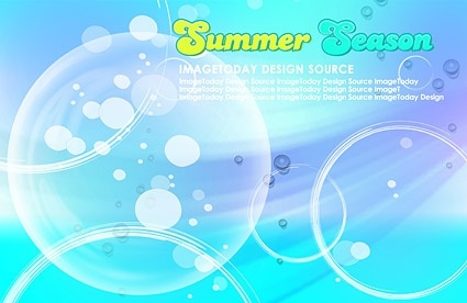 korean style summer background layered psd 1