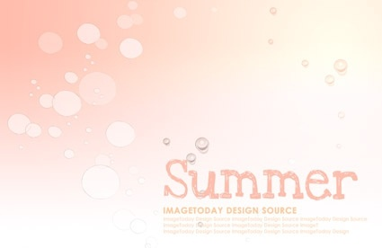 korean style summer background layered psd 2