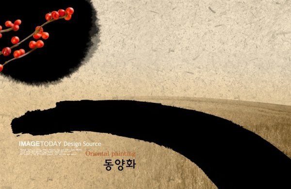 korean the ink dye classical psd layered 2