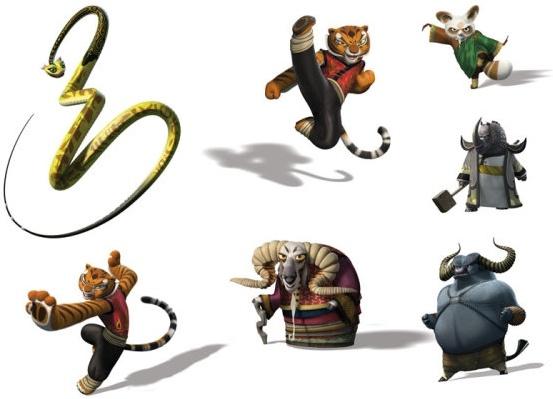 Kung fu panda 2 wallpapers in jpg format for free download.