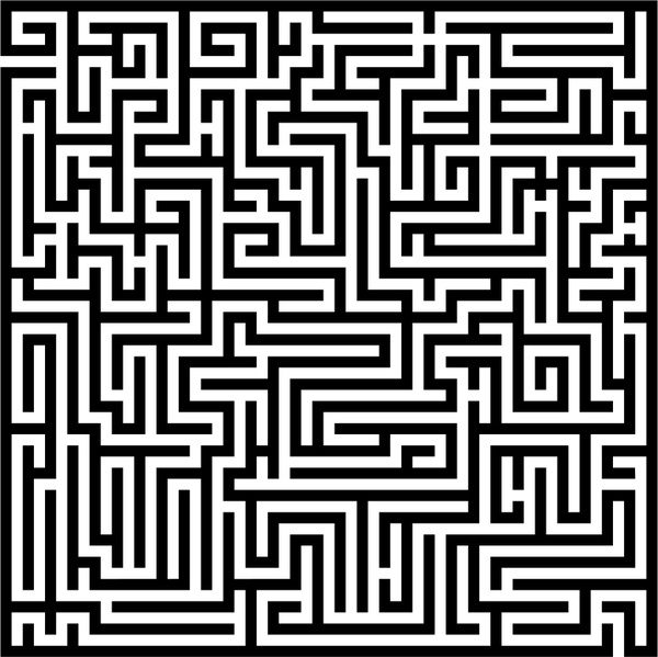 Labyrinth Free Vector In Open Office Drawing Svg Svg Vector Cool Labyrinth Pattern