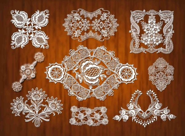lace pattern psd 1