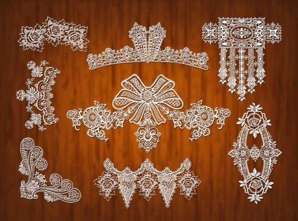 lace pattern psd 2