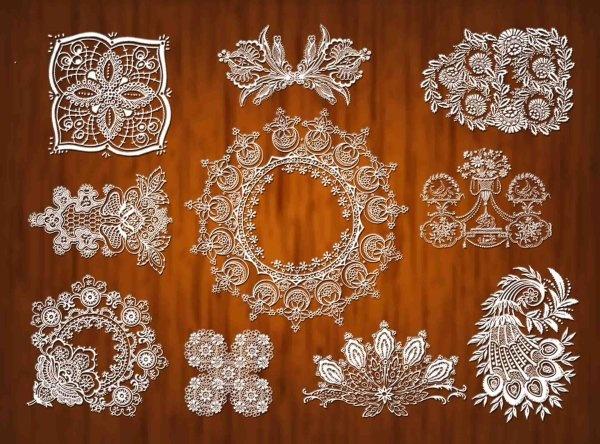 lace pattern psd 4