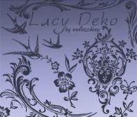 Lacy Deko Brushes
