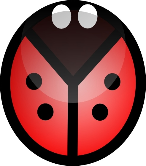 Ladybug clip art free vector in open office drawing svg for Clipart to download for free