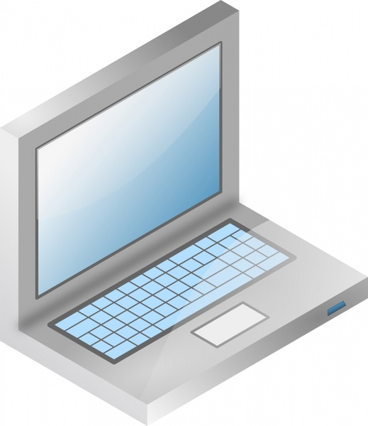 laptop vector model