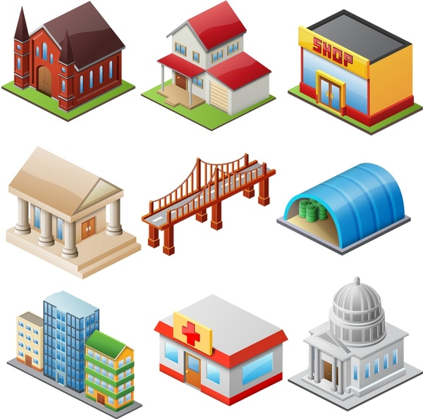 Large Home Icons icons pack