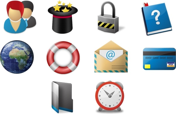 Large Toolbar Icons icons pack