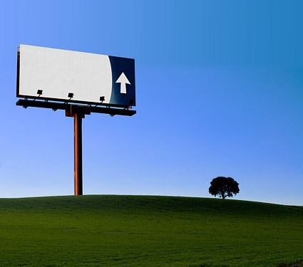 largescale outdoor billboard picture