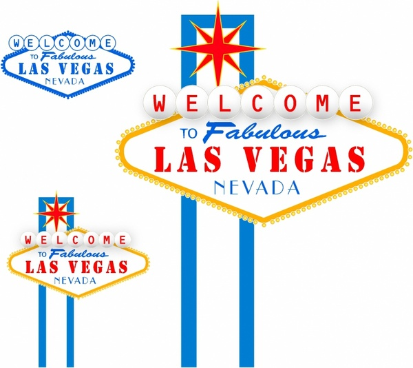 Las Vegas sign Free vector in Adobe Illustrator ai ( .AI ...