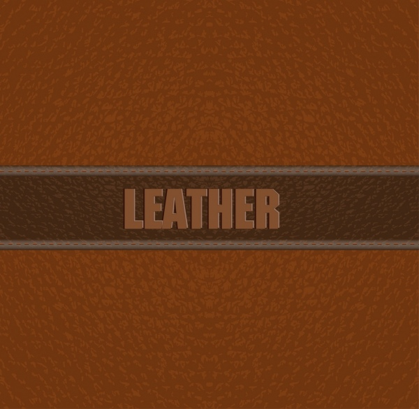 leather material background luxury brown design text decoration