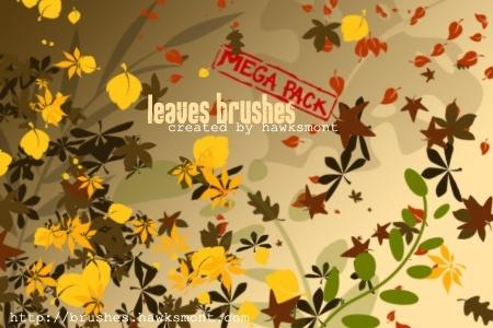 Leaves Brushes - MEGA PACK