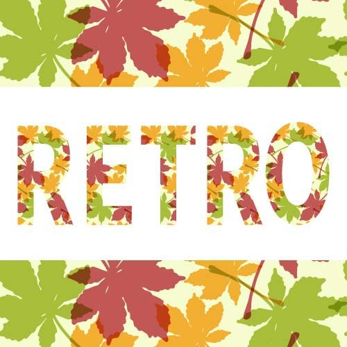leaves pattern art background vector