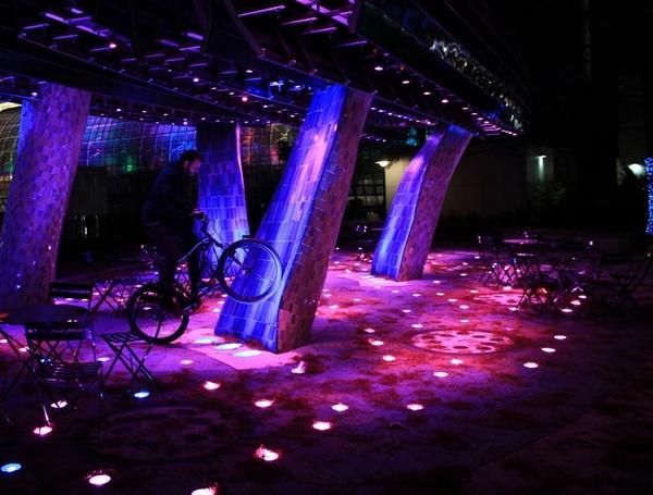 Led Lights Gazebo Bicycle Free Stock