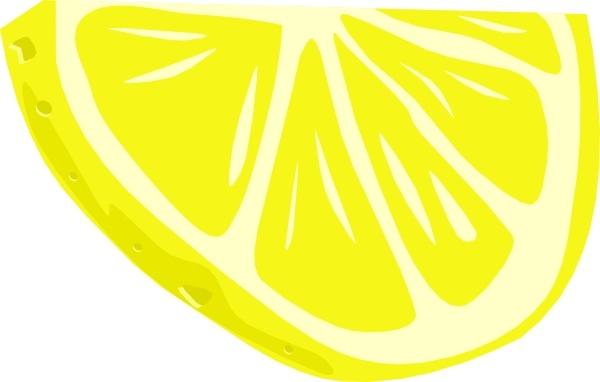 Lemon (half Slice) clip art Free vector in Open office