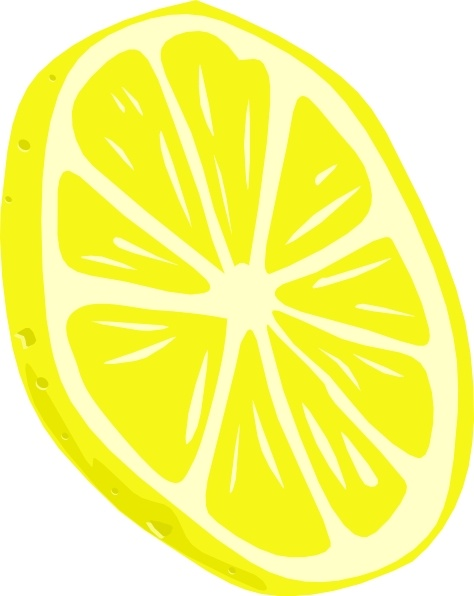 Lemon (slice) clip art Free vector in Open office drawing svg ( .svg ) vector ...
