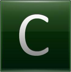 Letter C dg