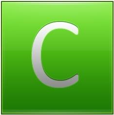 Letter C lg