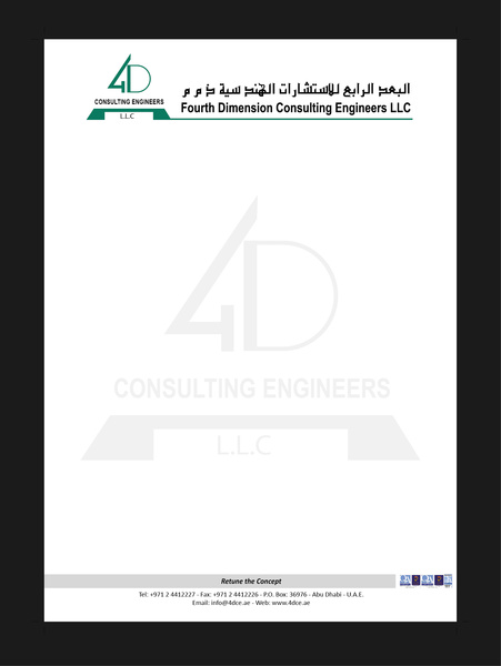 letter_head_4d_3_6816158 Official Business Letter Template on