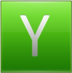 Letter Y lg