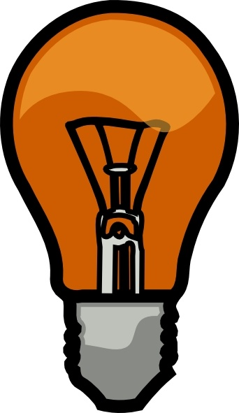 Light Bulb Clip Art Free Vector In Open Office Drawing Svg
