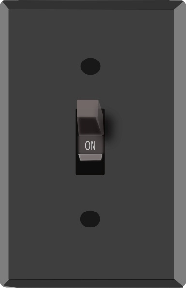 Light Switch On Clip Art Free Vector In Open Office