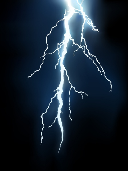 lightning background flash sparks icon
