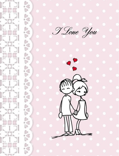 lines issued on valentine39s day illustrations 04 vector
