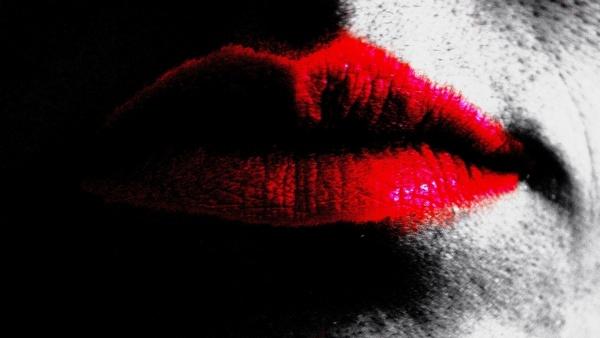 lips light effect