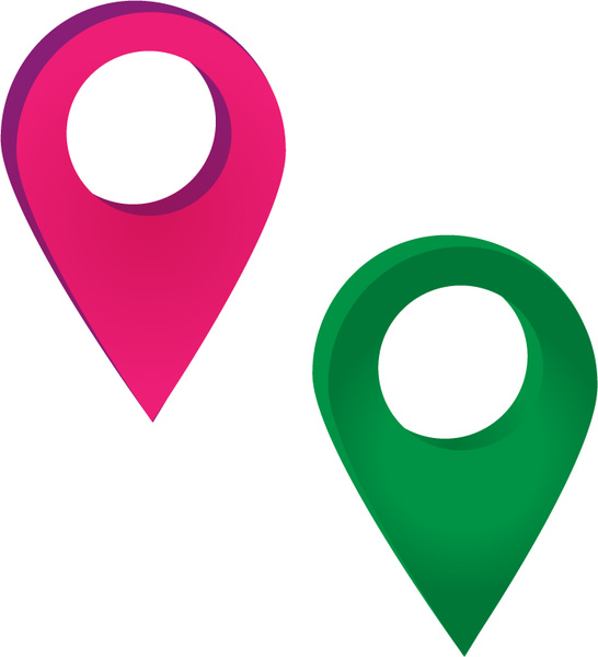 Location Icons Free Vector In Adobe Illustrator Ai Vector