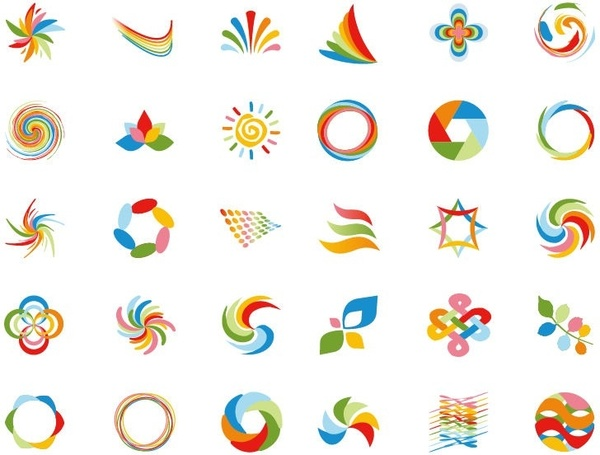 Logo Design Element Vector Graphics
