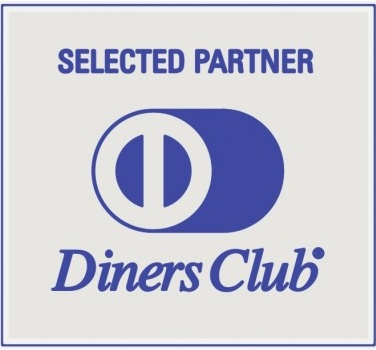 logo diners club selected partner vector