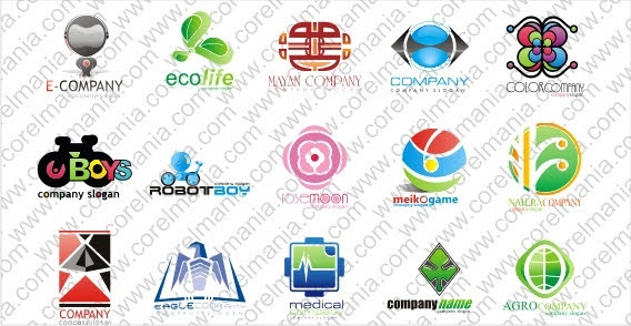 Logos free vector
