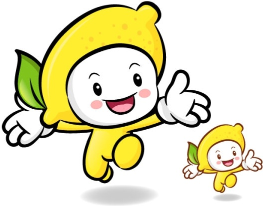 love the cartoon super fruits vector 10