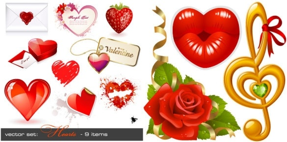 love theme vector
