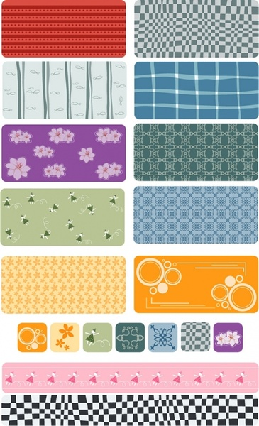 lovely abstract vector background shading case