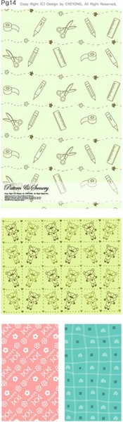 lovely background vector series 1