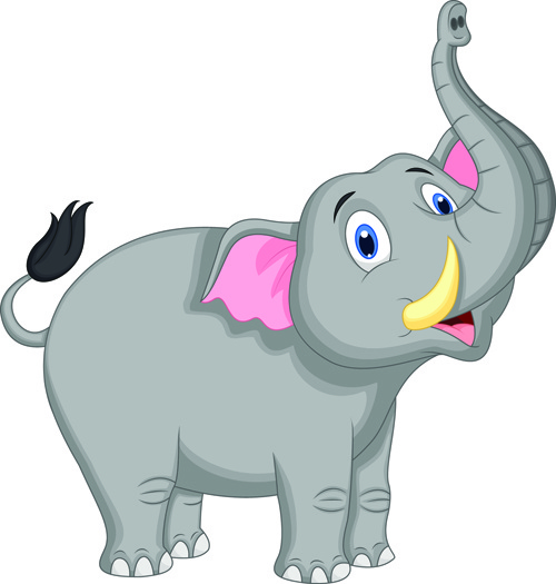 cartoon elephant images free vector download  16 713 free free business card border clip art Line Border Clip Art Business Card