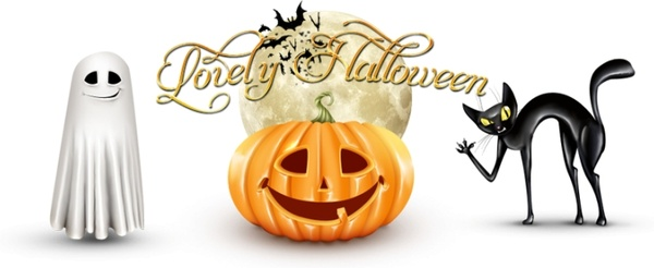 Lovely Halloween icons icons pack