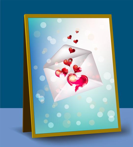 lovely heart letter